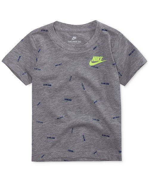 1dc531c16 Nike Confetti-Print T-Shirt, Little Boys & Reviews - Shirts & Tees - Kids  ...