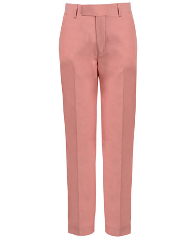 Calvin Klein Mock Linen Twill Pants, Big Boys