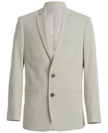 Calvin Klein Stretch Tick Weave Jacket, Big Boys