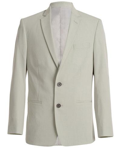 Calvin Klein Stretch Tick Weave Jacket, Big Boys