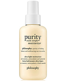 philosophy purity Made Simple Moisturizer, 4.7-oz.