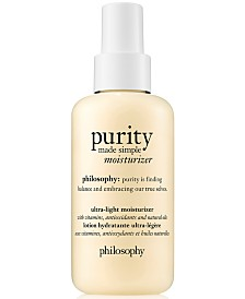 philosophy purity Made Simple Ultra-Light Moisturizer, 4.7-oz.