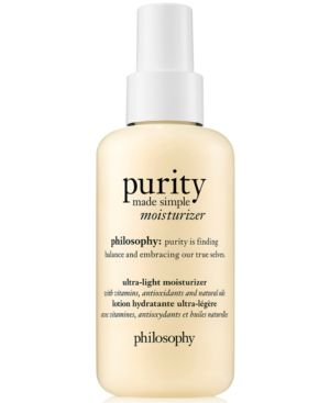 Purity Made Simple Ultra-Light Moisturizer 4.7 Oz/ 141 Ml