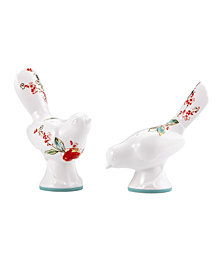 Lenox Simply Fine Dinnerware, Chirp Figural Salt and Pepper Shakers