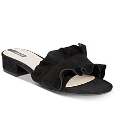 Alfani Women's Monah Slide On Sandals, Created for Macy's