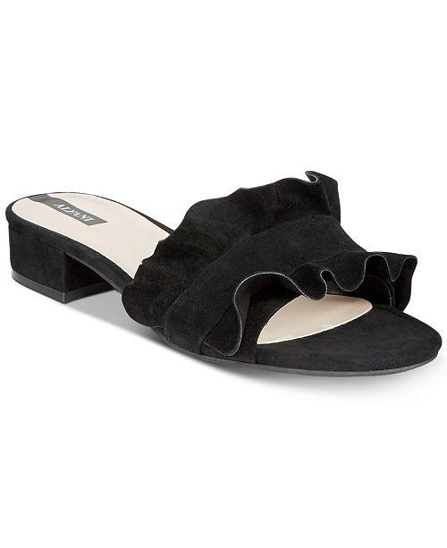 1b3c31cd3a48 Alfani Women s Monah Slide On Sandals