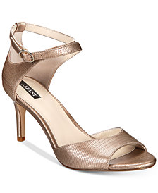 Alfani Women's Galeah Peep Toe Sandals, Created for Macy's