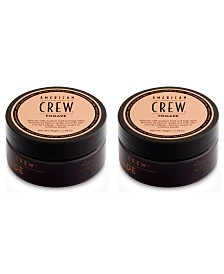 American Crew Pomade Duo (Two Items), 1.75-oz., from PUREBEAUTY Salon & Spa