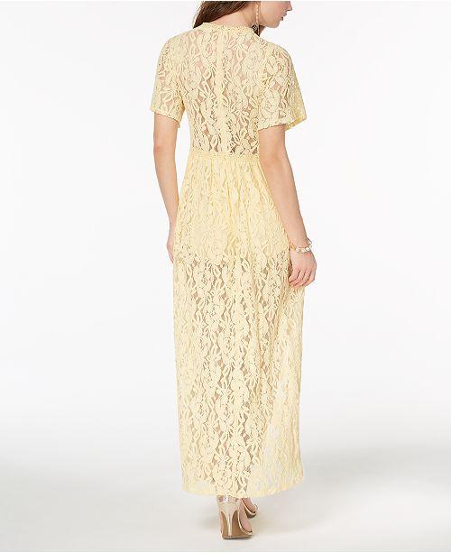 be86900139f6 Disney Princess Juniors  Lace Maxi Dress   Reviews - Dresses ...