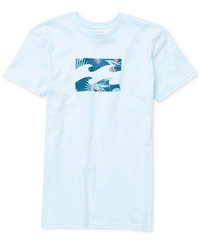 Billabong Team Wave Graphic-Print Cotton T-Shirt, Little Boys