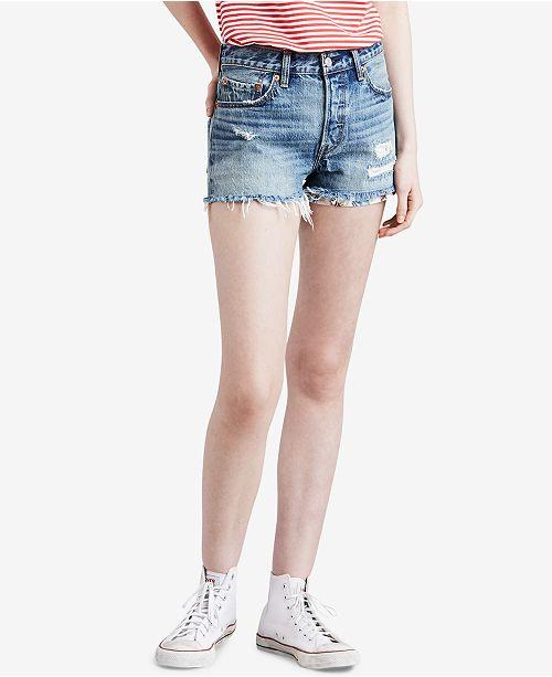 76e616eae7b Levi's 501® Cutoff Denim Shorts & Reviews - Shorts - Women - Macy's