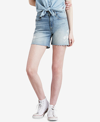 Mile High Cutoff Denim Shorts by Levi's