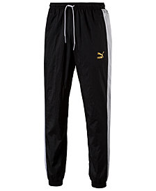 Puma Men's Metallic-Logo Track Pants