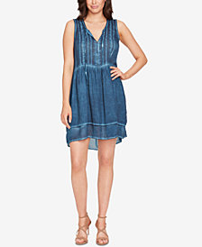 WILLIAM RAST Devondra Pintucked Peasant Dress