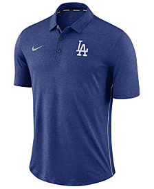 Nike Men's Los Angeles Dodgers Dri-FIT Breathe Touch Polo