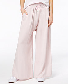 Free People Mia Smocked Wide-Leg Pants