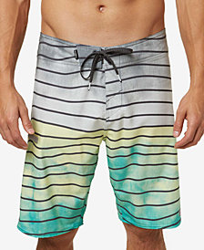 "O'Neill Men's Hyperfreak Swell Stripe 20"" Board Shorts"
