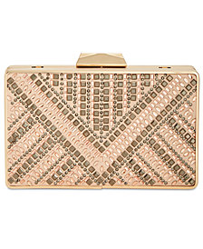 I.N.C. Rakhel Embellished Box Clutch, Created for Macy's