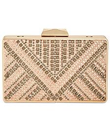 I.N.C. Rakhel Embellished Box Clutch, Created for Macy's