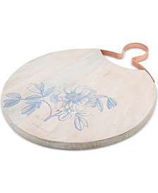 CLOSEOUT! Thirstystone Peony Wood Serving Board
