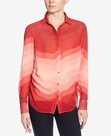Catherine Catherine Malandrino Spencer Printed Shirt