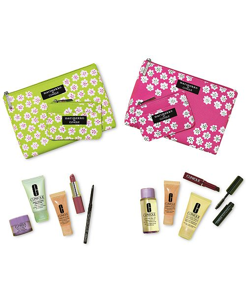 clinique choose your free 7pc gift with 28 purchase a 75 value