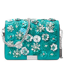 MICHAEL Michael Kors Jade Gusset Medium Clutch