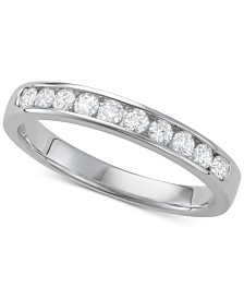 Diamond Band (3/8 ct. t.w.) in 14k White Gold