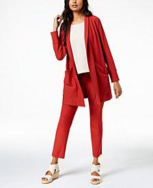 Eileen Fisher Kimono Jacket, Shell & Skinny Pants