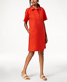 Eileen Fisher Organic Cotton Shirtdress, Regular & Petite