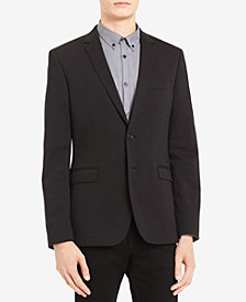 Calvin Klein Men's Classic-Fit Stretch Ponté Knit Sport Coat