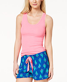 Jenni By Jennifer Moore Solid Pajama Tank Top, Created for Macy's
