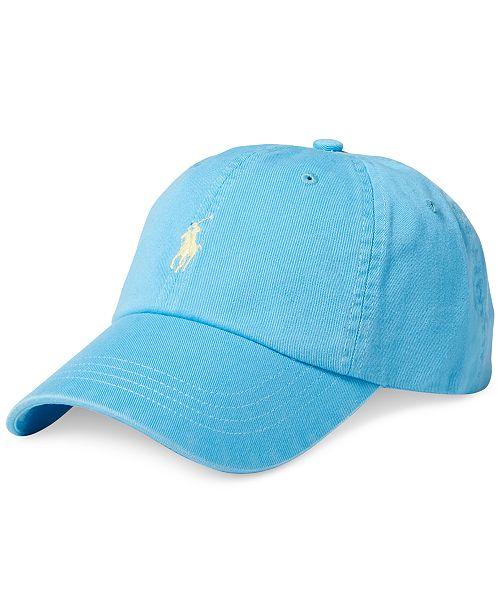 f3df6de14 Polo Ralph Lauren Men s Chino Baseball Cap   Reviews - Hats ...