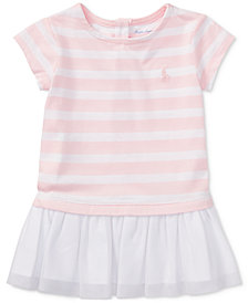 Ralph Lauren Striped Shirtdress, Baby Girls