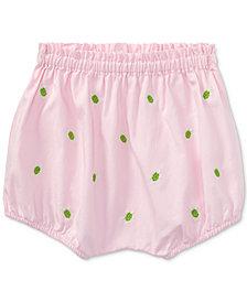 Ralph Lauren Oxford Cotton Bloomer, Baby Girls
