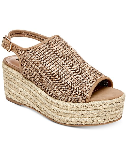 1cf42f7a9db STEVEN by Steve Madden Courage Espadrille Wedge Sandals   Reviews ...