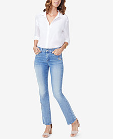 NYDJ Barbara Butterfly Tummy-Control Bootcut Jeans