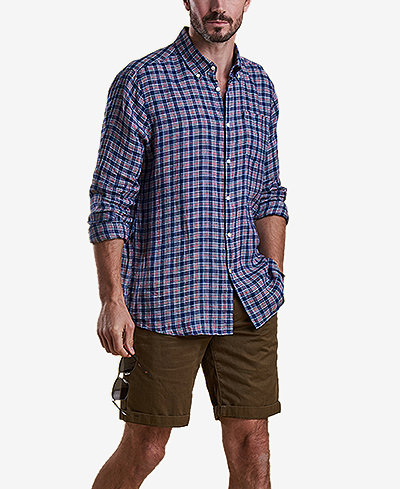 Barbour Men's Felix Linen Shirt