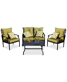 Oxford Outdoor 4-Pc. Seating Set, Quick Ship