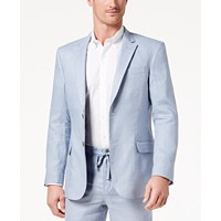 Deals on Tasso Elba Men's Linen 2-Button Blazer
