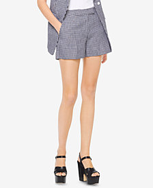 MICHAEL Michael Kors Linen Gingham Shorts, Created for Macy's