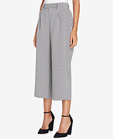 Tahari ASL Cropped Wide-Leg Pants, Regular & Petite