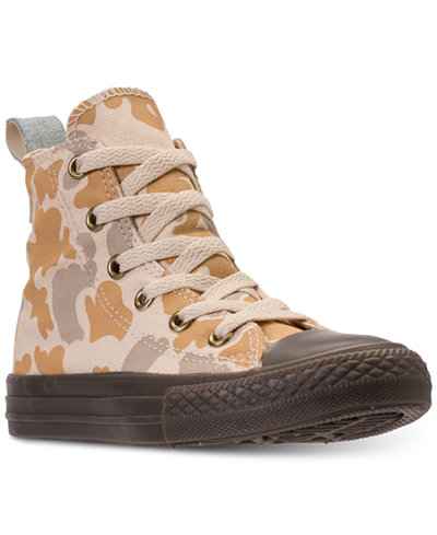 Converse Little Boys' Chuck Taylor All Star High Top Camo Casual Sneakers from Finish Line