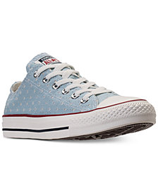 Converse Unisex Chuck Taylor Ox Stars Casual Sneakers from Finish Line
