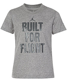 Jordan Flight-Print T-Shirt, Little Boys