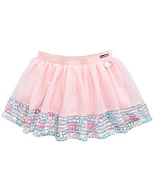 Hello Kitty Shadow-Stripe Border Tutu Skirt, Little Girls
