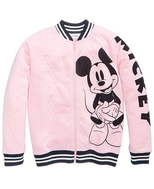 e7e280443795 ... Disney Mickey Mouse Bomber Jacket