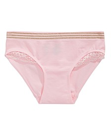 Lace-Trim Underwear, Little & Big Girls