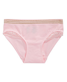 Maidenform 2-Pc. Lace-Trim Underwear, Little & Big Girls