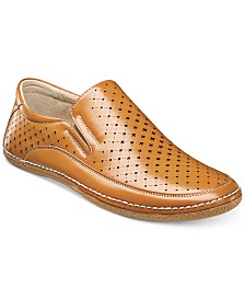 Stacy Adams Men's Northpoint Moc Toe Slip-On Loafers